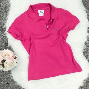 Size 38 Lacoste polo